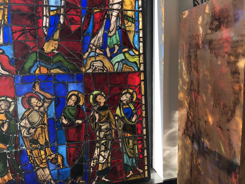Kopie van Middeleeuws glasraam, Kathedraal van Le Mans – ©Atelier Mestdagh