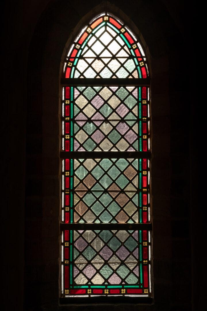 Restauratie glas-in-lood, St.-Niklaaskerk Westkapelle - © Jürgen De Witte