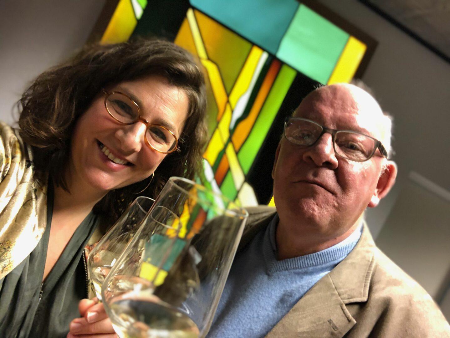 Katrien & Luc Mestdagh glas in lood