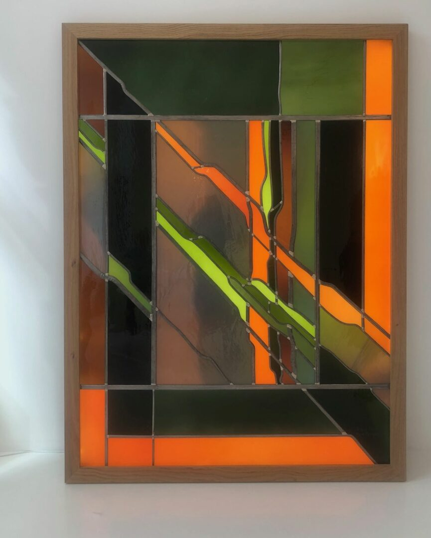 verlichting glas in lood Atelier Mesdagh
