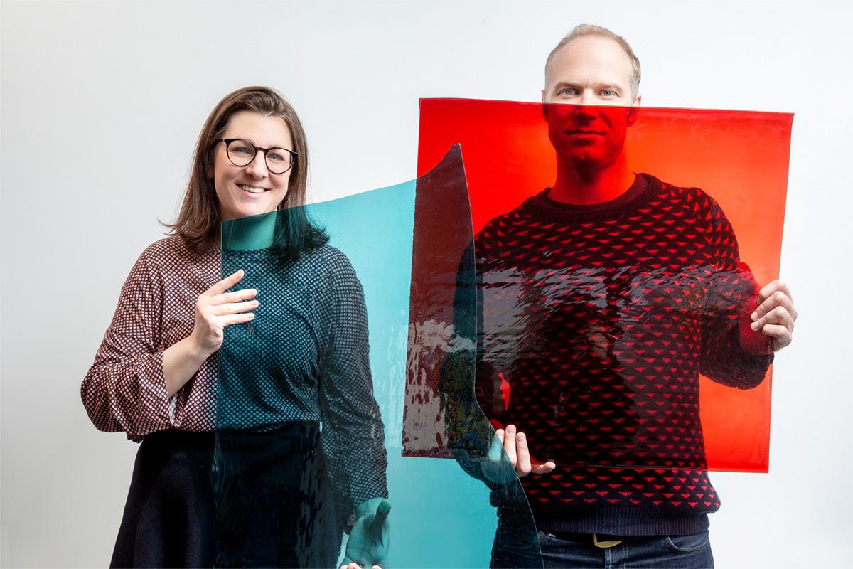 Design staanlamp in glas-in-lood – ontw. Maarten De Ceulaer – ©Laila Pozzo for Doppia Firma