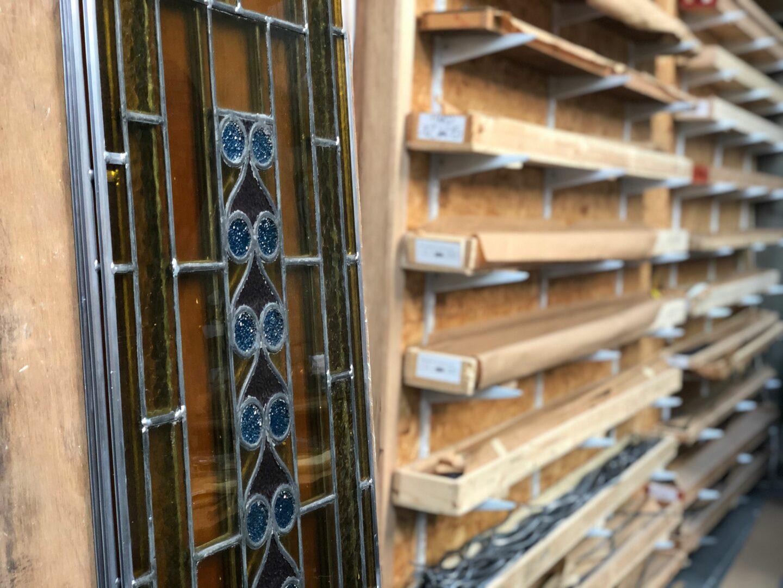 Conservatie en restauratie glas in lood ramen uit de St. Servaaskerk (Schaarbeek) - © Atelier Mestdagh