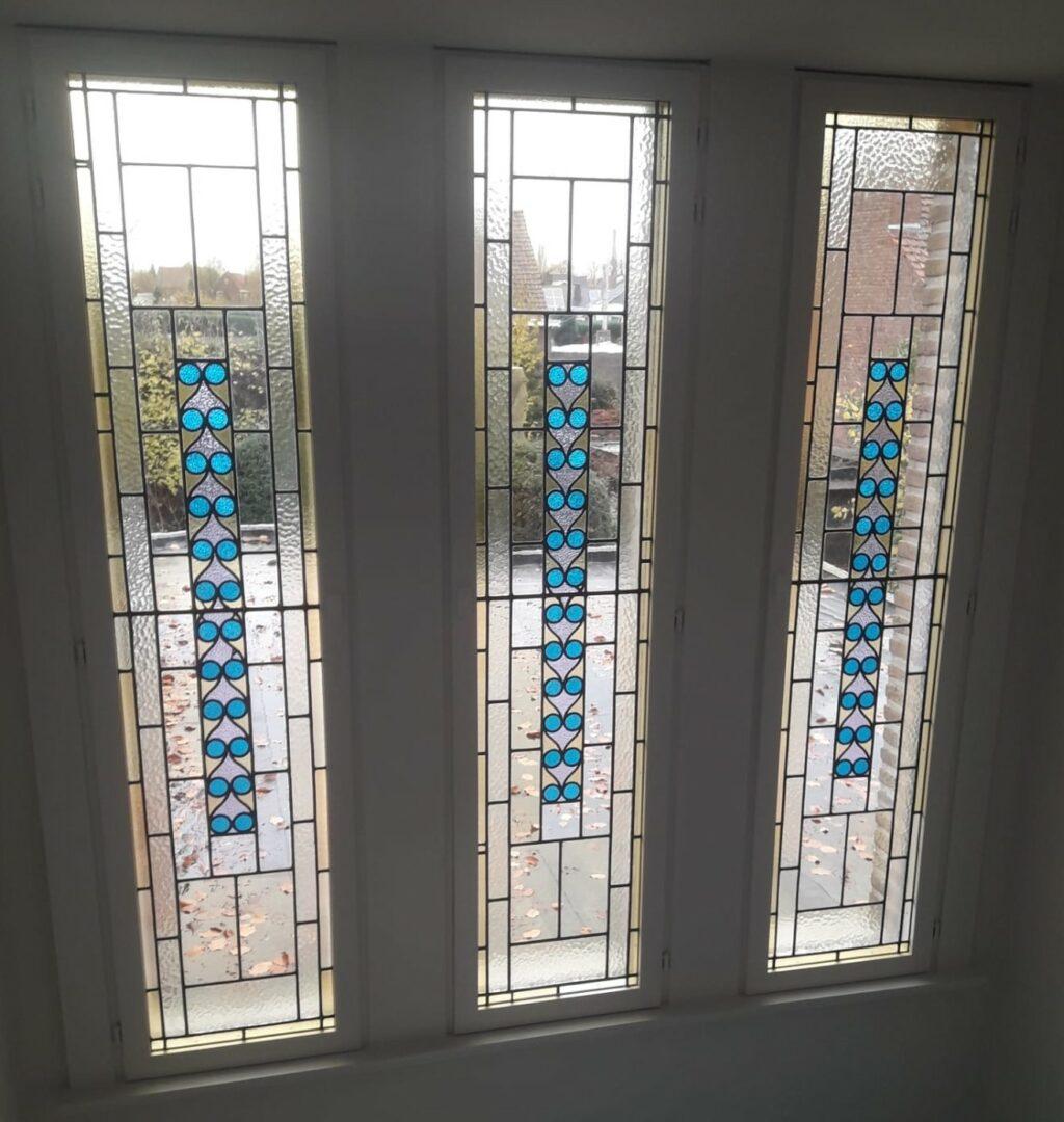 glas in lood deuren Atelier Mestdagh