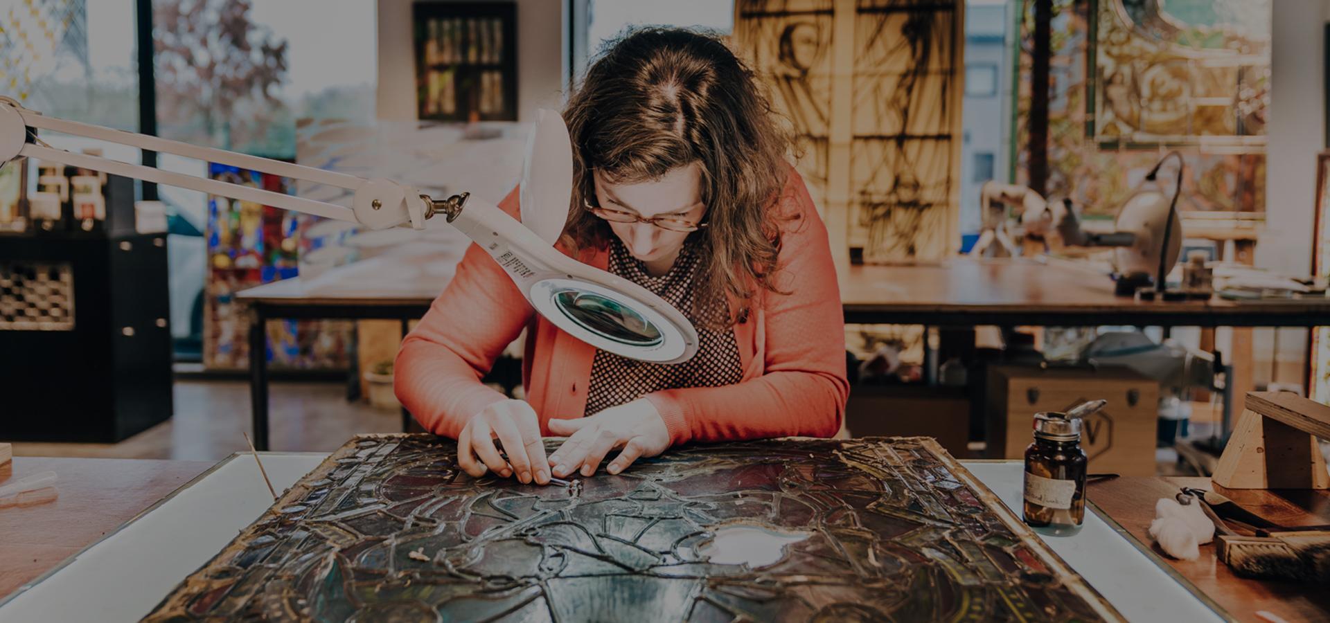 Team Atelier Mestdagh Merelbeke Glasramen in kleur_1