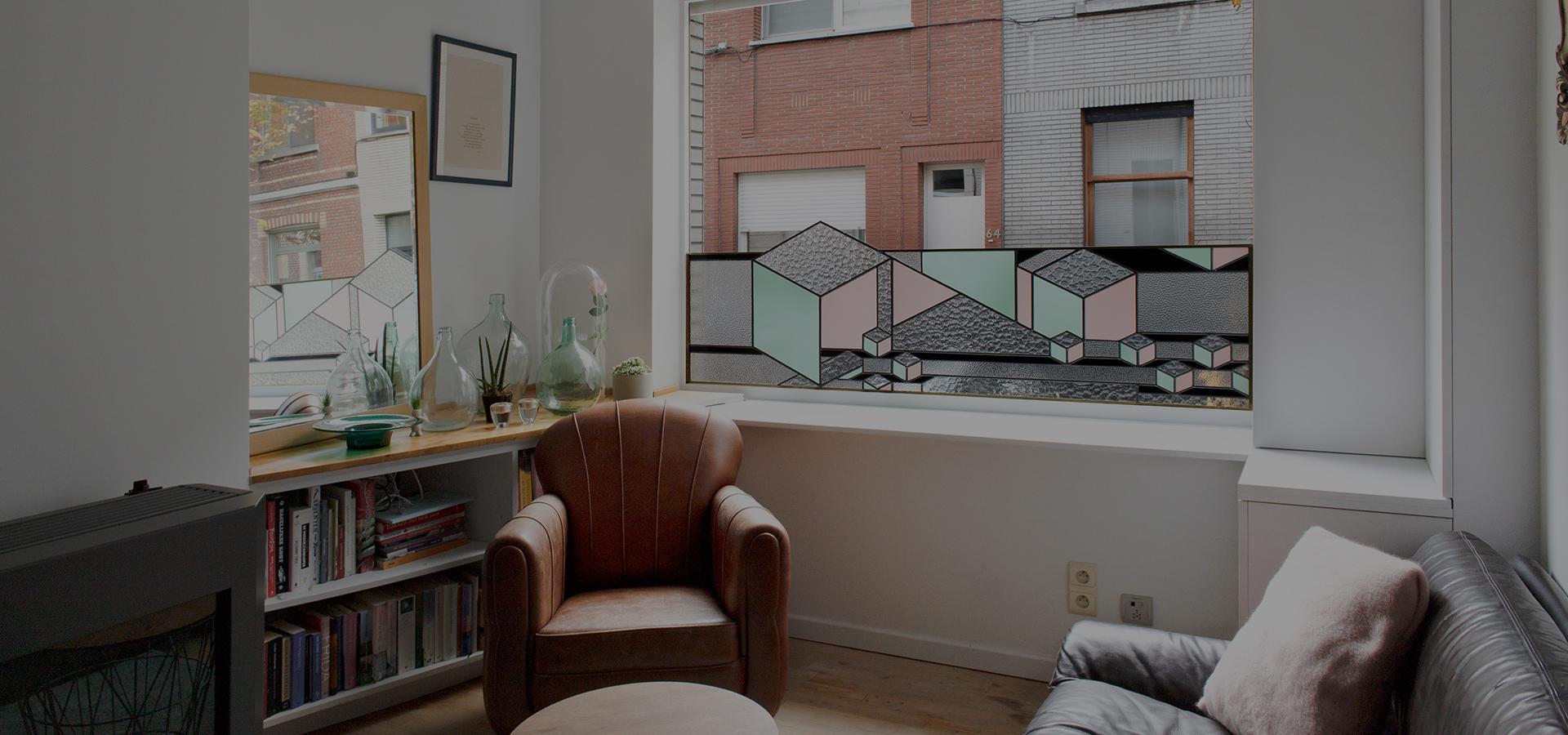 Atelier Mestdagh Merelbeke Glasramen in kleur_5