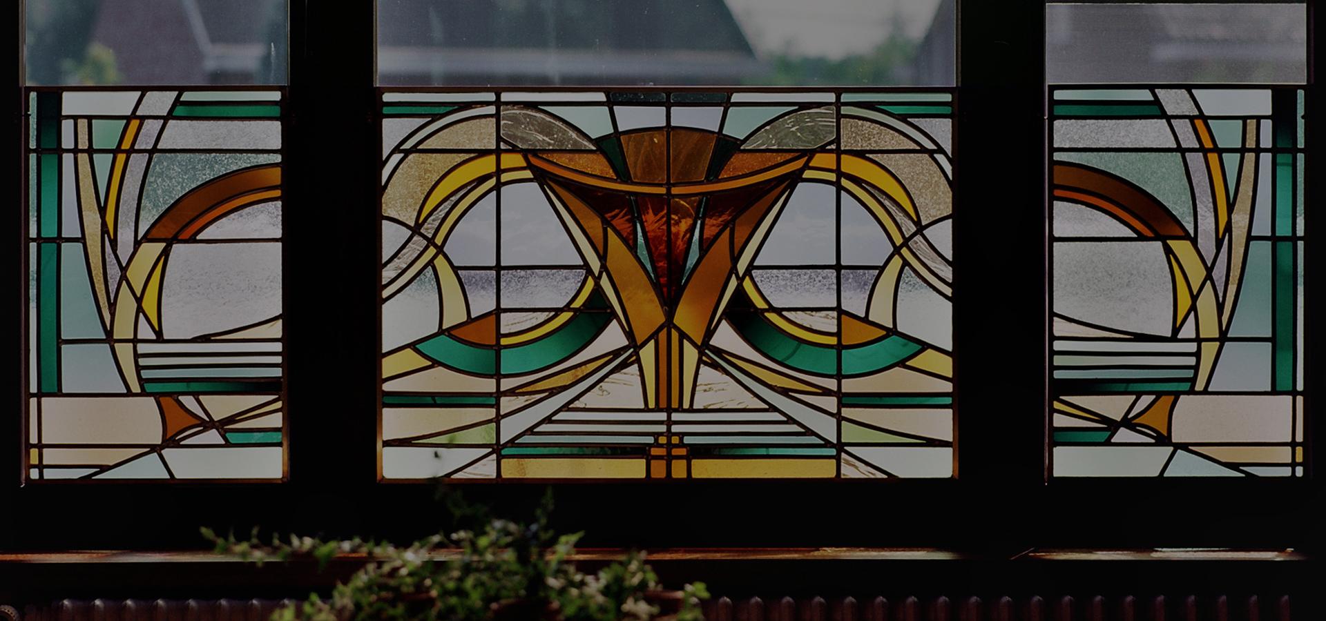 Glasramen in kleur_7 Atelier Mestdagh Merelbeke Glas in lood