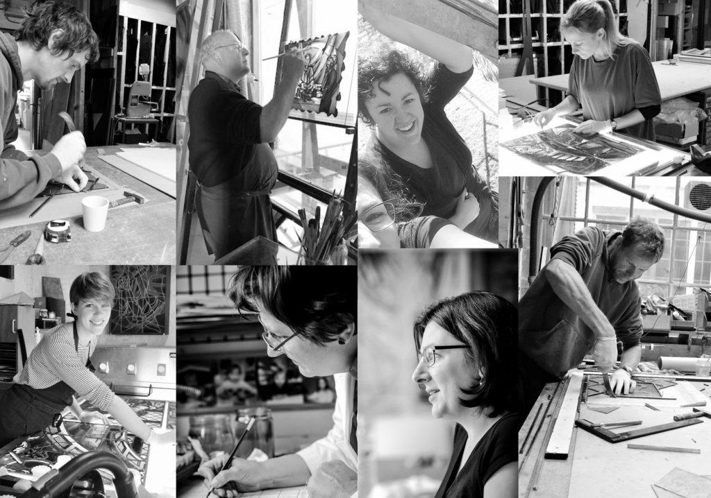 team Atelier Mestdagh Glas in lood
