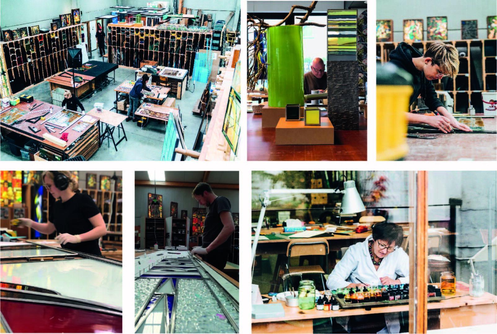 Atelier Mestdagh glaskunstenaars
