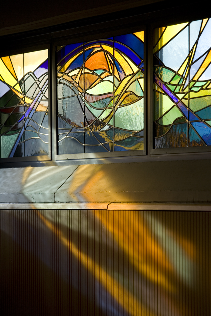 licht en glas in lood Atelier Mestdagh Stained Glass
