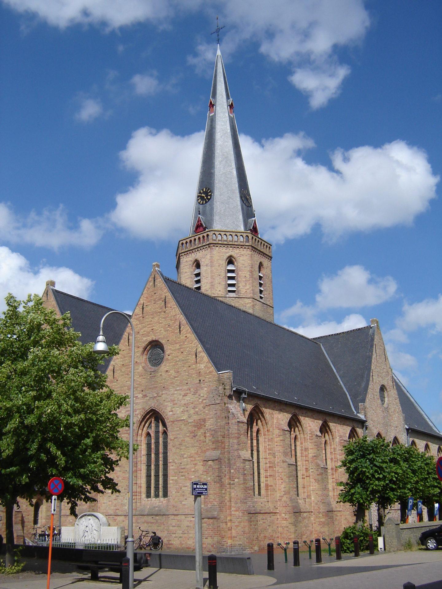 Nieuwe glasramen in glas in lood voor kerk te Westkapelle (3)