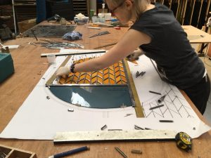Nieuwe glasramen voor kerk te Westkapelle (3)