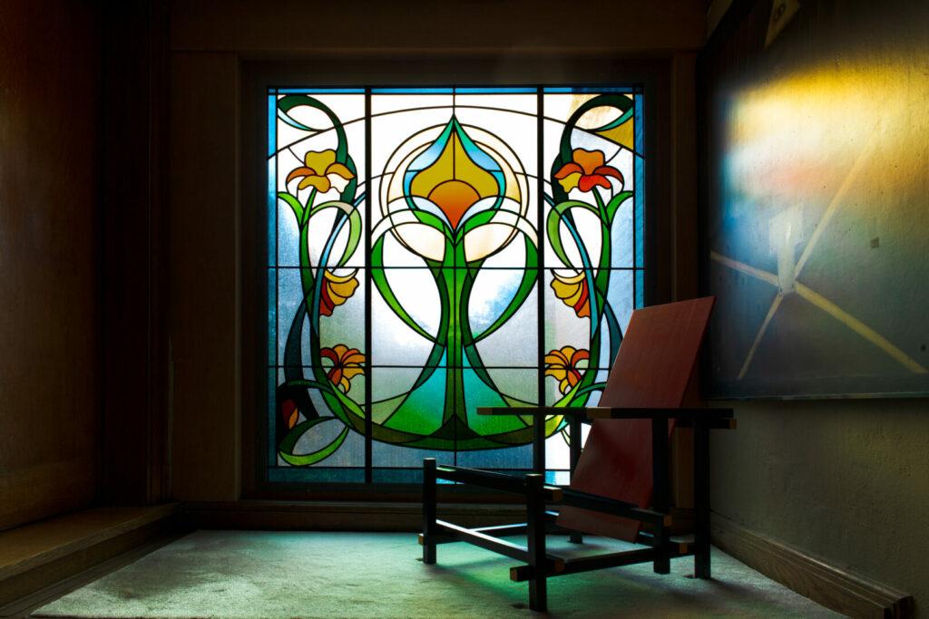 Ingrid Meyvaert Atelier Mestdag Interieur glas in lood stained glass