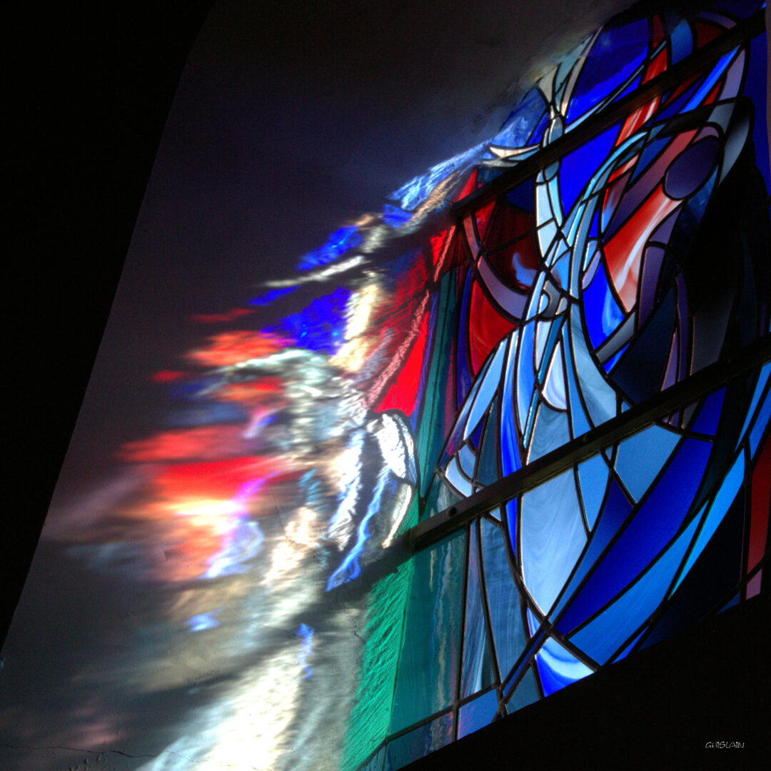 glas in lood kerkramen Ingrid Meyvaert Atelier Mestdagh Merelbeke